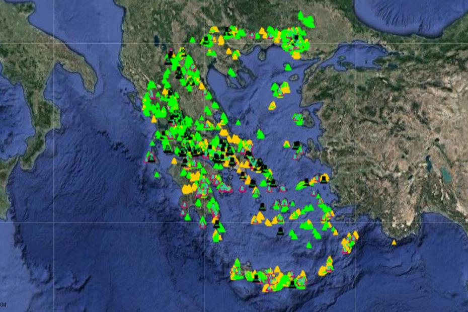 Χάρτης-Αιολικών-ΡΑΕ_Ελλάδα_